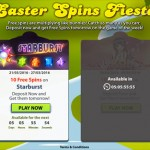SlotsMagic Easter Free Spins 2016 at  from 21 March until 1 April 2016