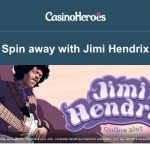 200 Jimi Hendrix Free Spins EVERYDAY at CasinoHeroes