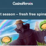 55  Vikings Go Wild Free Spins available EVERYDAY at CasinoHeroes