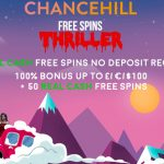 Unlock 10 REAL CASH free spins No Deposit Required with our EXCLUSIVE New Chance Hill Casino Bonus Code
