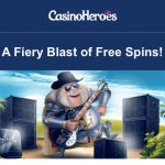4 Days only! Get 100 Motorhead Free Spins EVERYDAY at CasinoHeroes.