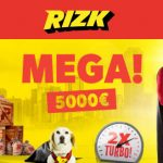 The Mega Fortune Jackpot is sitting at €4.6 million! Increase your chances of hitting it with the Rizk Casino MEGA Promotion.