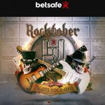 Its ROCKTOBER at Betsafe Casino meaning Play the Rock Slots for SUPER Free Spins & Cash Prizes