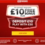 Choose between £10 Free No Deposit Required to play slots at SkyVegas or place a bet at SkyBet