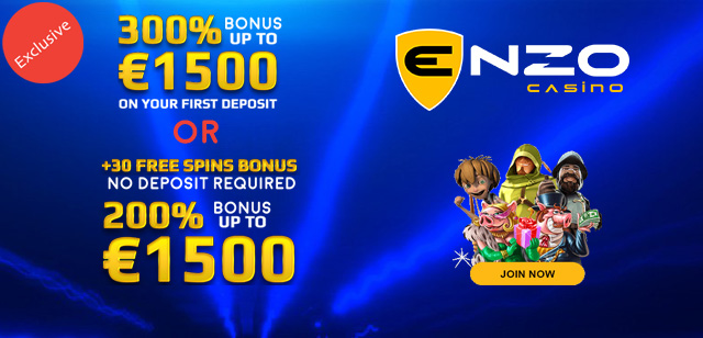 Enzo casino 30 free spins