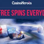 CasinoHeroes to the RESCUE! 55 Free Spins EVERYDAY! Get them now! 7 Days ONLY!