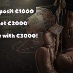 OVO Casino Knockout Bonus: Get a SUPER bonus of €2000 by depositing €1000!