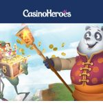 Casino Heroes will save you from a mundane weekend! Beat the boredom & Get free spins EVERYDAY this weekend!