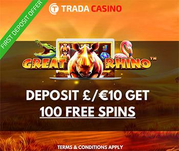 Trada casino no deposit codes 2018