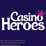 CasinoHeroes May 2018 Deposit Bonus Spins offers (available from 24 – 28 May 2018)