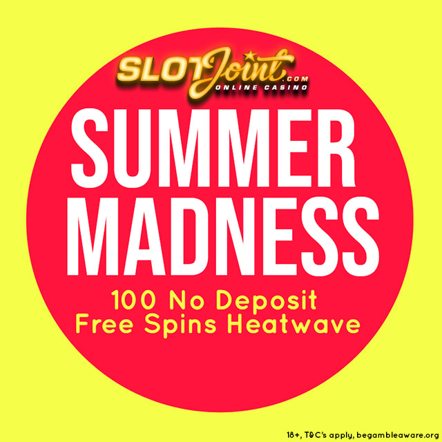 100 Free Spins No Deposit Required