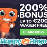 Claim your Happy Hugo Welcome Free Spins – 10 Starburst No Deposit Free Spins ZERO wagering on sign up!