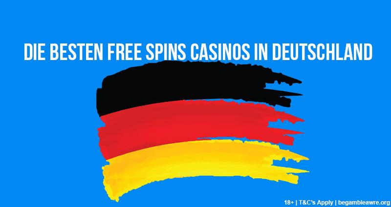 die besten free spins casinos in deuscheland