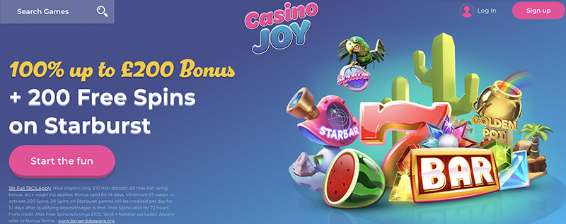 CASINO JOY REVIEW