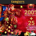 UPDATED Tangiers Casino No Deposit Bonus now Live! Get 25 Free Spins No Deposit Required on Sign Up + a 200% Bonus up to €/$10,000 on First Deposit!