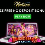 EXCLUSIVE No Deposit Bonus for March 2019: Get €5 FREE at Casino Ventura