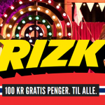 EXCLUSIVE: 100 NOK  Free No Deposit Bonus available at Rizk Norway from March 12th-24th 2019 for old and new players!