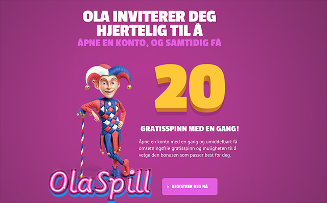 Olaspill Free Spins