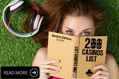 NetEnt Casinos List 2018