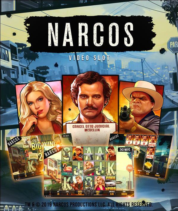 Narcos Free Spins No Deposit