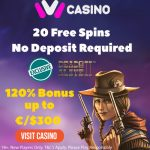20 Dead or Alive 2 Free Spins NO DEPOSIT REQUIRED + an EXCLUSIVE 120% Bonus up to €/$300 now available at iViCasino