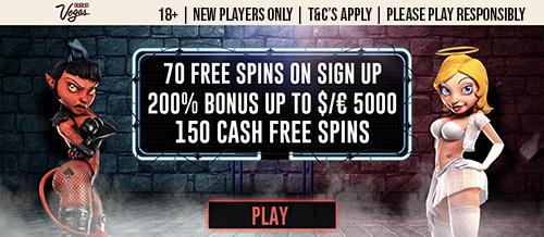 Extra Vegas Free Spins No Deposit
