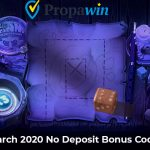 Propawin March 2020 No Deposit Bonus Codes now available: UNLOCK 50 Free Spins No Deposit Required