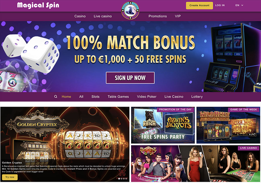 ojo casino games