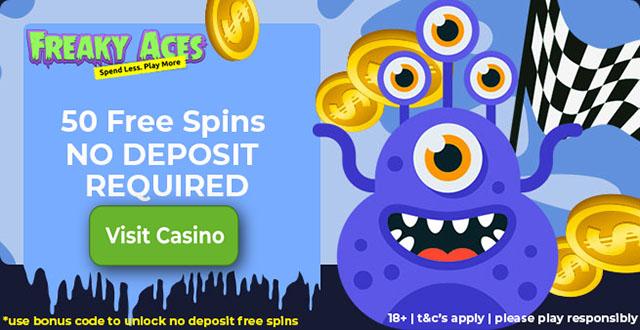 Freaky Aces May 2020 No Deposit Bonus Codes
