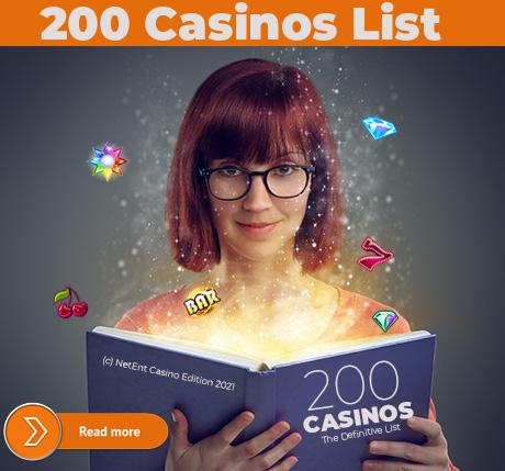 NetEnt Casinos List 2021