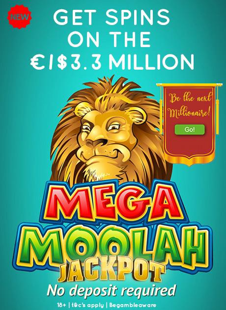Mega Moolah Jackpot Slot No Deposit Bonus