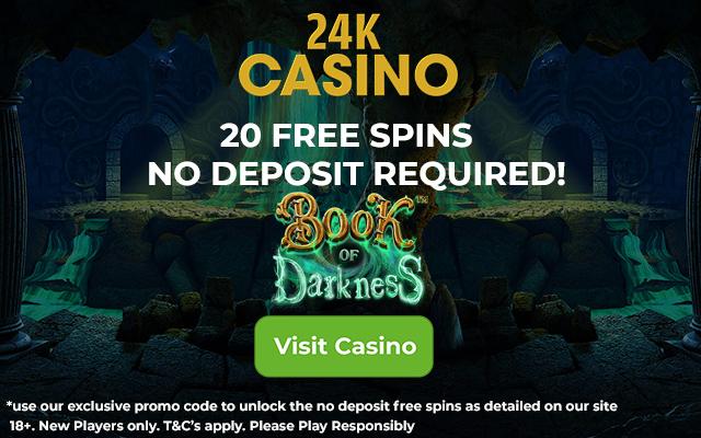 24K Casino No Deposit Promo Code