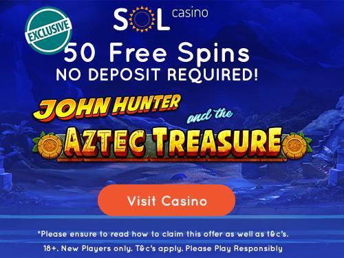 Sol Casino No Deposit Bonus Code